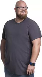 talla grande camisetas hombre