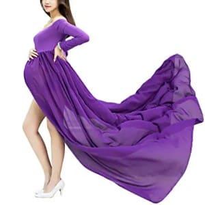 Impresionantes vestido de embarazada para fotos