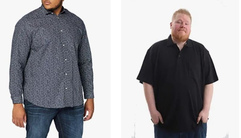 Camisas tallas grandes hombre