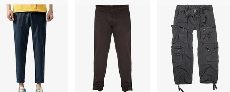 Pantalones hombre Tallas grandes