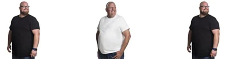 camisetas hombre tallas grandes